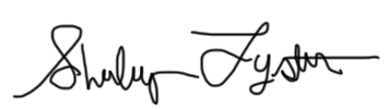 Shirley Lyster Signature